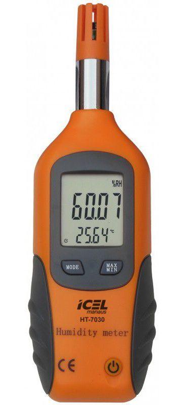 Termo-Higrômetro Icel HT-7030  - MRE Ferramentas