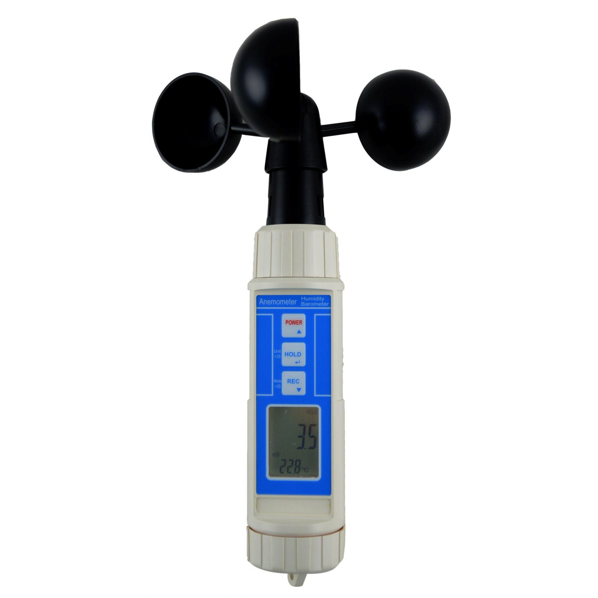 Termohigro Anemômetro Barômetro Digital Instrutherm THAB-500  - MRE Ferramentas