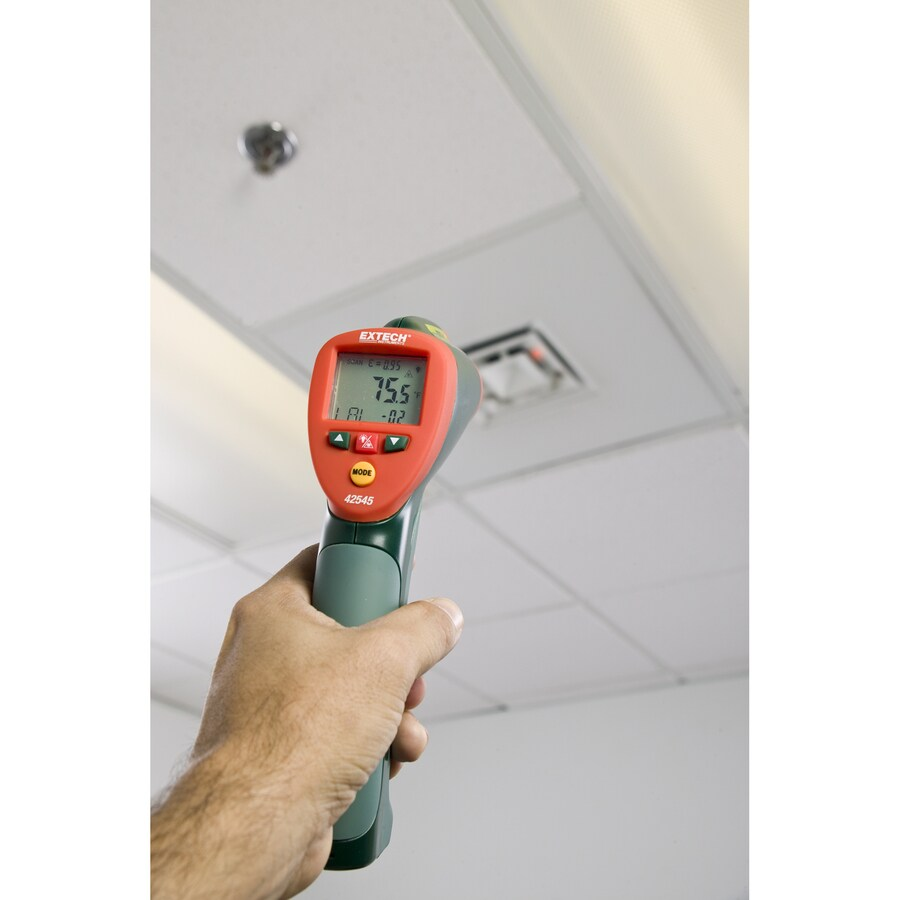 Termômetro à Laser de alta temperatura Extech 42545  - MRE Ferramentas