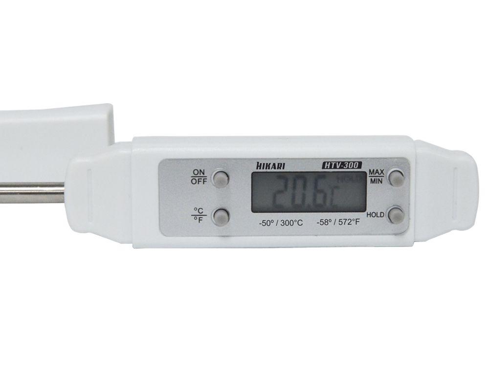 Termômetro de Vareta Digital Hikari HTV-300  - MRE Ferramentas