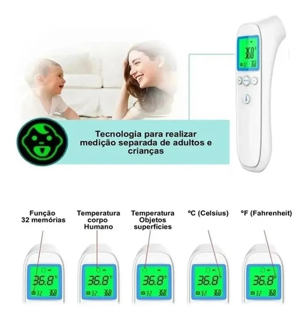 Termômetro Digital Medidor De Temperatura Corporal B688  - MRE Ferramentas