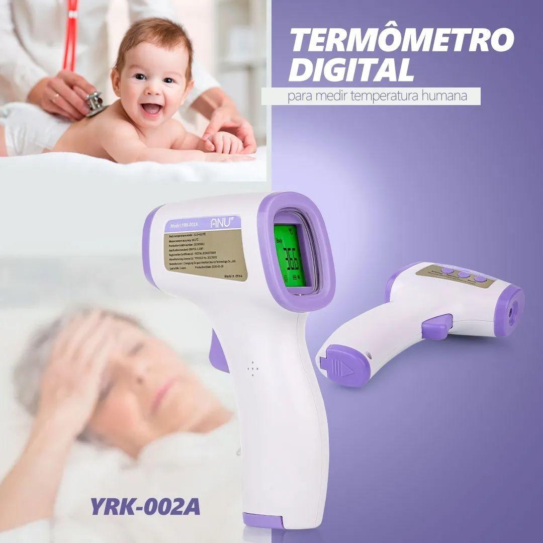 Termômetro Digital Medidor De Temperatura Corporal YRK-002A  - MRE Ferramentas