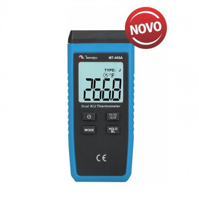 Termômetro Digital Minipa MT-455A  - MRE Ferramentas