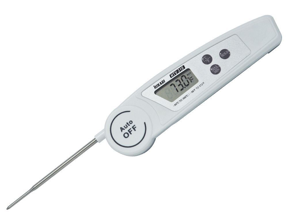 Termômetro Dobrável Digital de Vareta Hikari HTV-310  - MRE Ferramentas
