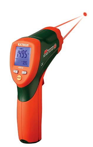 Termômetro Infravermelho de Laser Duplo Extech 42512  - MRE Ferramentas