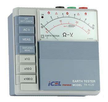 Terrômetro Analógico Icel TR-4120  - MRE Ferramentas