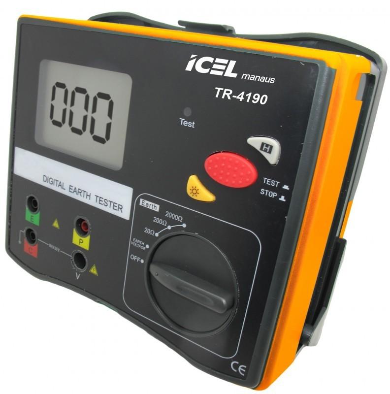 Terrômetro Digital Icel TR-4190  - MRE Ferramentas
