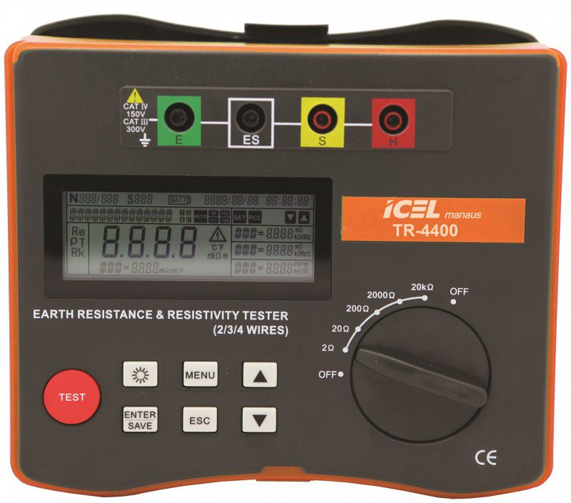 Terrômetro Digital Icel TR-4400  - MRE Ferramentas