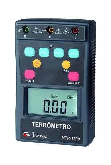 Terrômetro Digital Minipa MTR-1530  - MRE Ferramentas