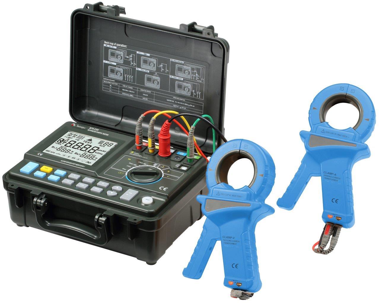 Terrômetro Digital Minipa MTR-2300  - MRE Ferramentas