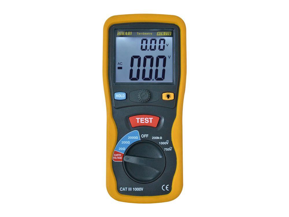 Terrômetro Digital Portátil Hikari HTR-770  - MRE Ferramentas