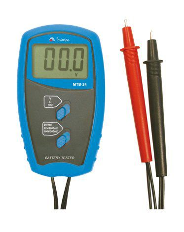 Testador de Bateria Minipa MTB-24  - MRE Ferramentas