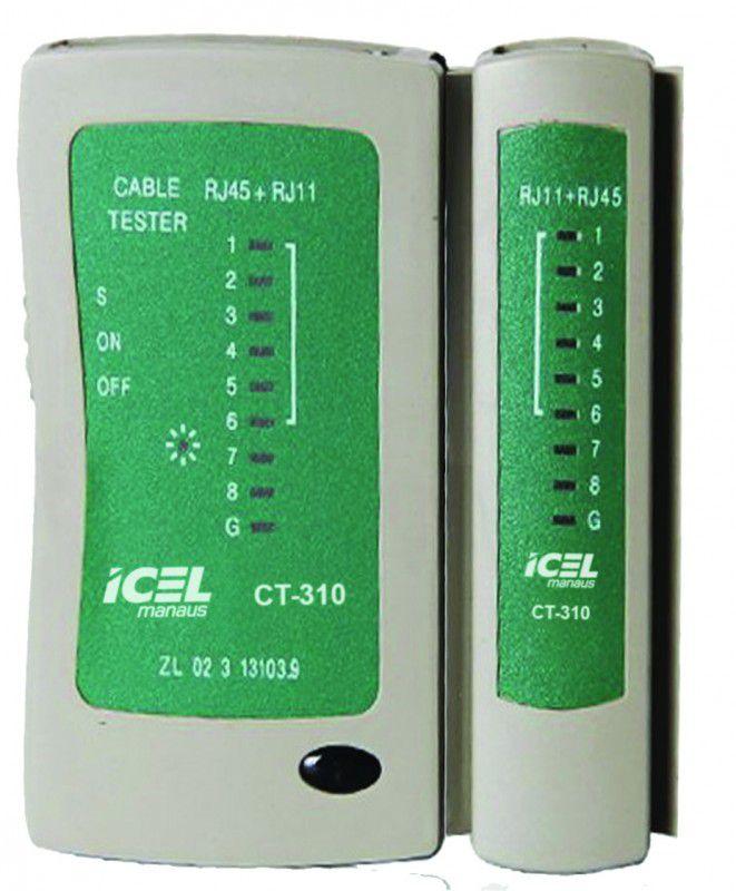 Testador de Cabo de Rede Icel CT-310  - MRE Ferramentas