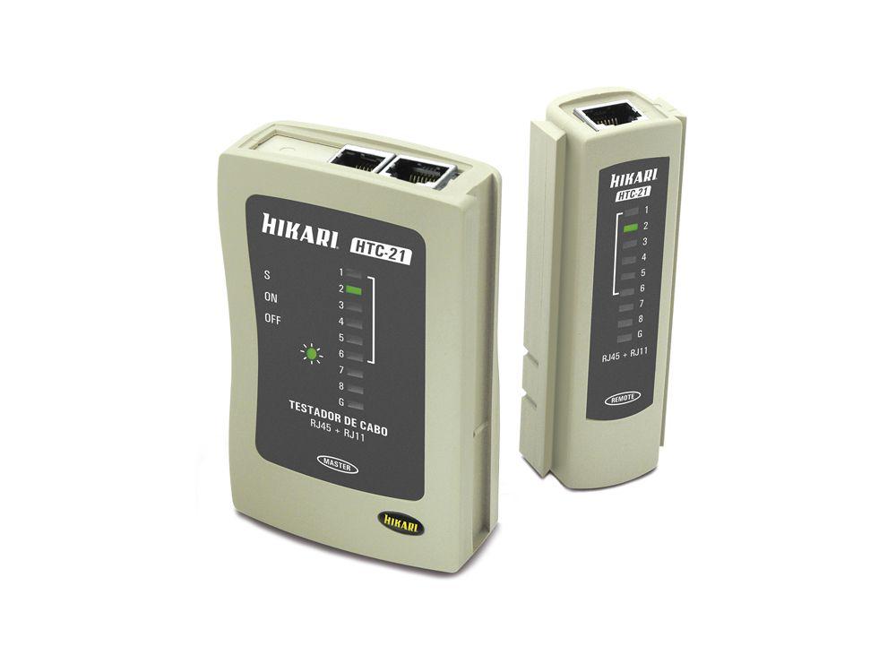 Testador de Cabos Hikari HTC-21  - MRE Ferramentas