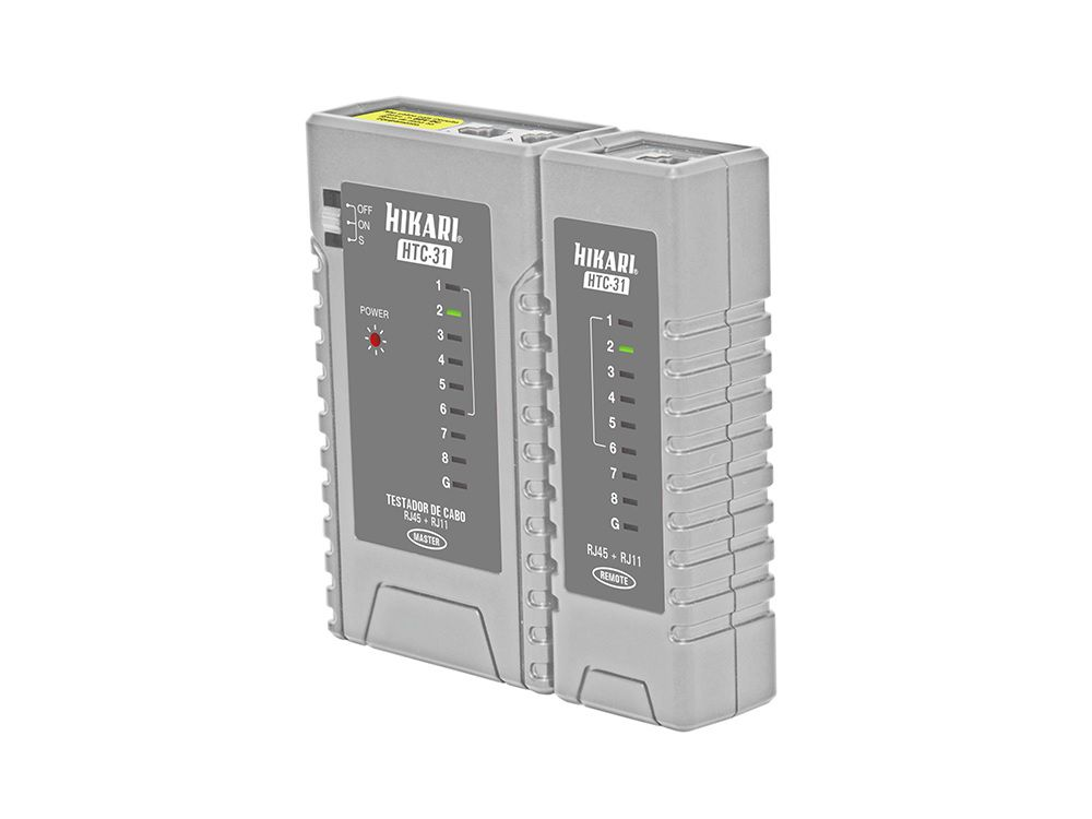 Testador de Cabos Hikari HTC-31  - MRE Ferramentas