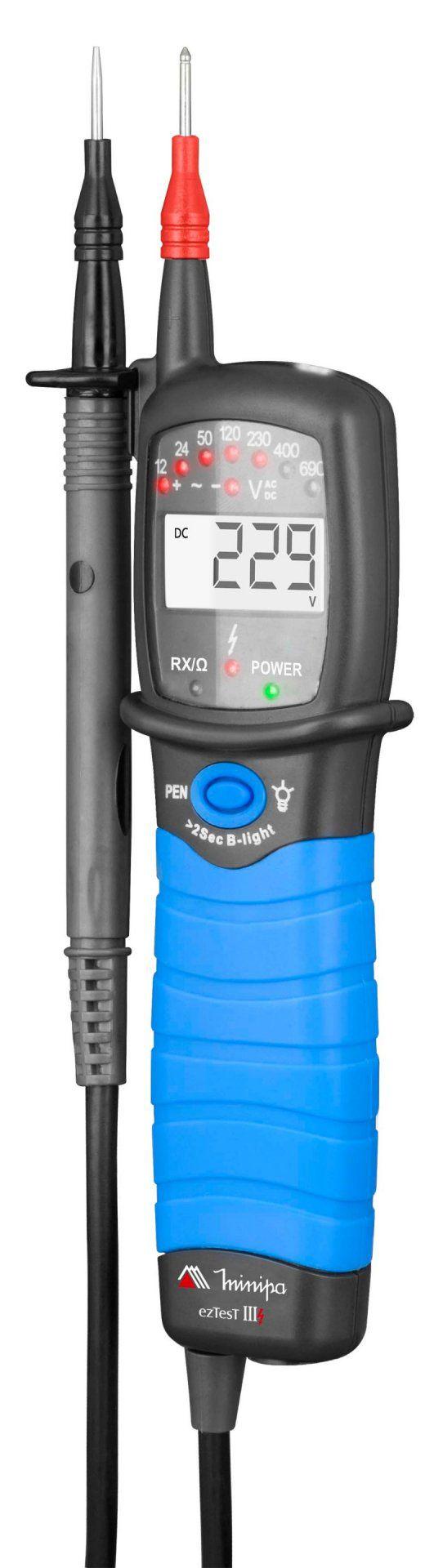 Testador de Tensão Minipa ez Test III  - MRE Ferramentas
