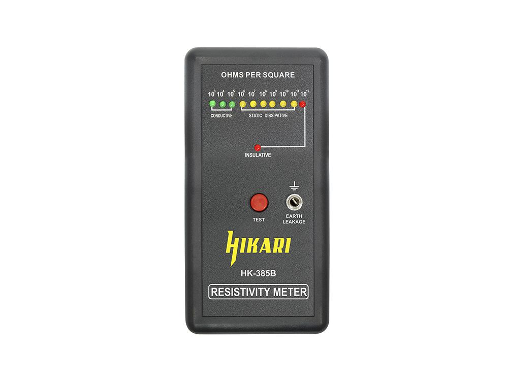 Testador ESD de Superficie Hikari HK-385B  - MRE Ferramentas