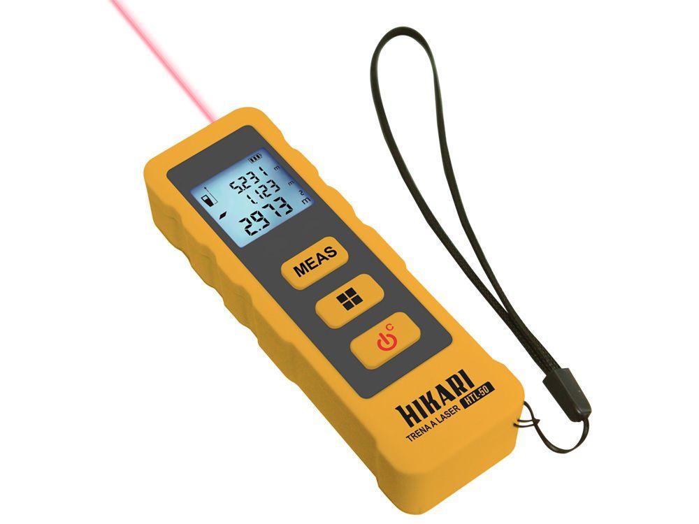 Trena a Laser 50M Digital Hikari HTL-50  - MRE Ferramentas