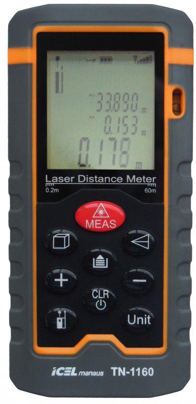 Trena a Laser Digital Icel TN-1160  - MRE Ferramentas