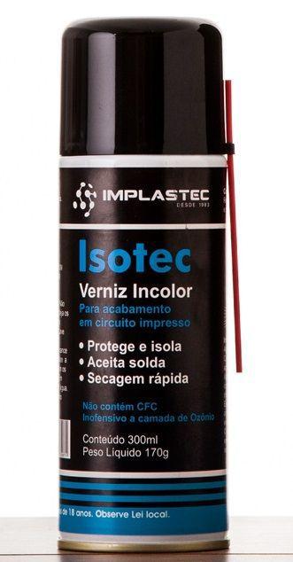 Verniz Incolor Isotec Implastec  - MRE Ferramentas