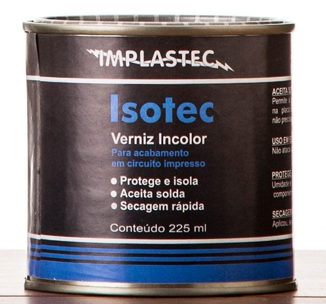 Verniz Isotec Incolor Implastec Lata 900ml  - MRE Ferramentas