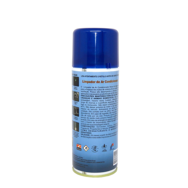 Air Clean Horus Auto Limpador de Ar Condicionado 290ml
