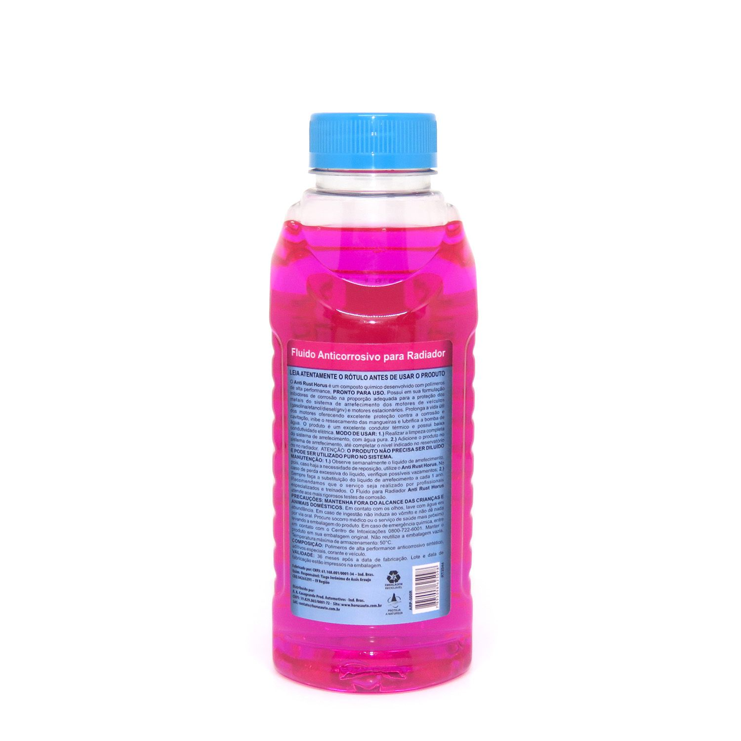 Anti Rust Fluído Anticorrosivo para Radiador Rosa 500ml