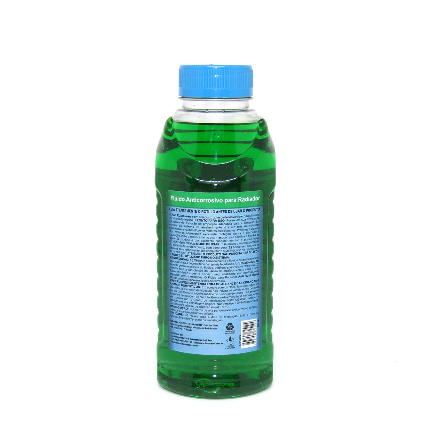 Anti Rust Fluído Anticorrosivo para Radiador Verde 500ml