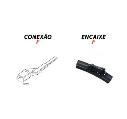 Jogo de  Palheta Dianteira + Traseira Volvo XC60 - 2008 a 2016