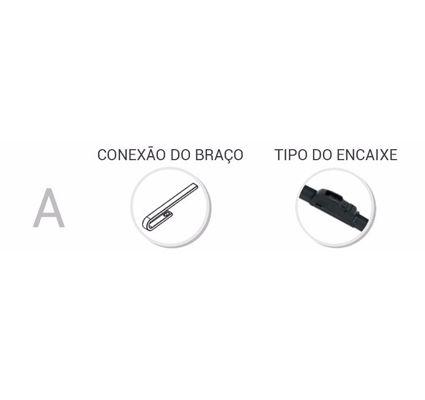 Kit com 3 Palhetas Limpador Parabrisa Dianteiro + Traseiro Sandero 2007 a 2014