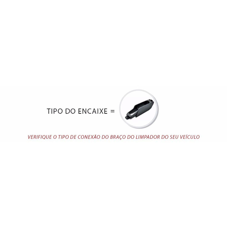 Kit com 3 palhetas Limpador Parabrisa HB20 - 2013 a 2017
