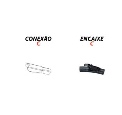 Kit com 3 Palhetas Limpador Parabrisa Nova EcoSport 2013 a 2018