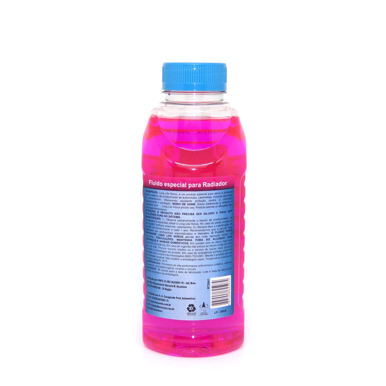 Long Life Fluído Premium para Radiador Rosa 500ml