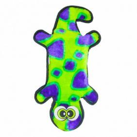 Brinquedo Outward Hound Invincibles - Lagartixa Verde/Roxa