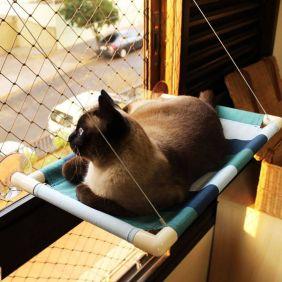 Cama de Gato para Janela Gatton Catbed Azul