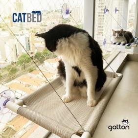 Cama Suspensa de Janela Gatton Catbed Malibu