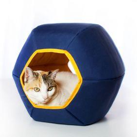 Toca para Gatos Gatton Mundi Azul