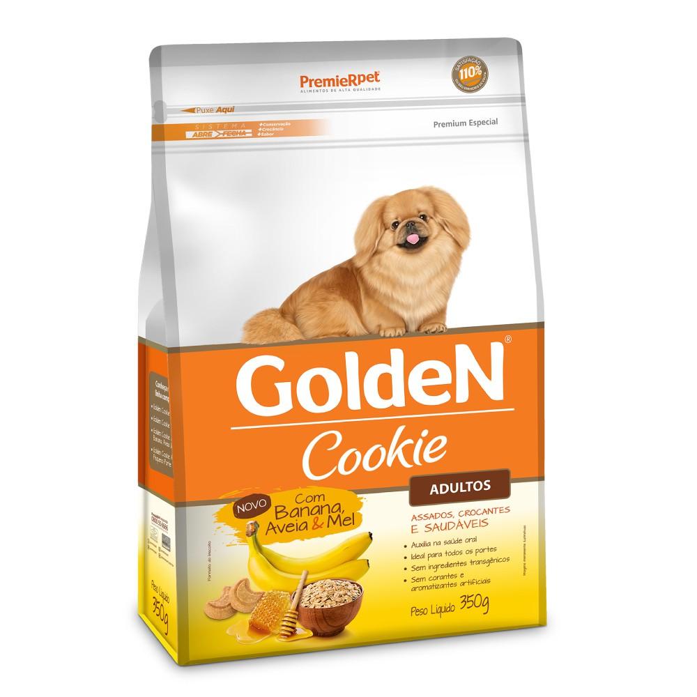 Biscoito Golden Cookie Banana, Aveia e Mel para Cães Adultos  - Focinharia