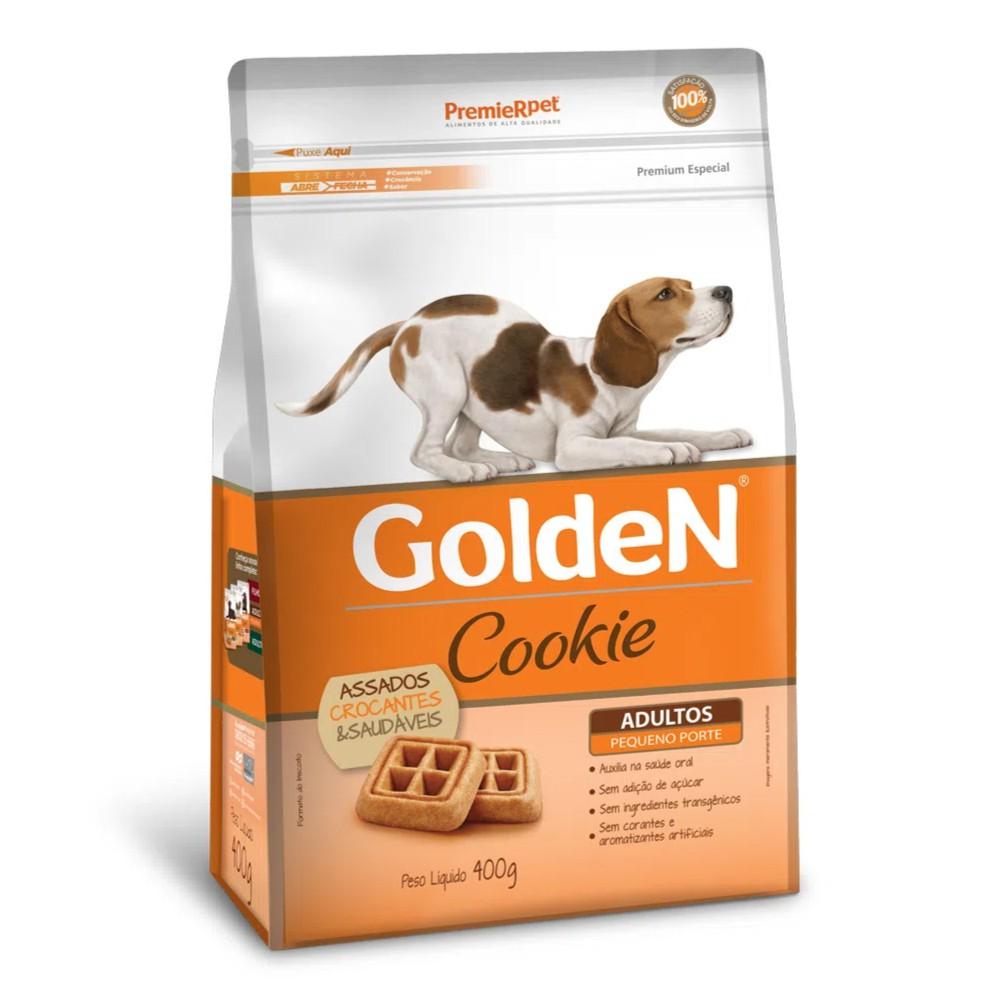 Biscoito Premier Pet Golden Cookie para Cães Adultos de Raças Pequenas  - Focinharia