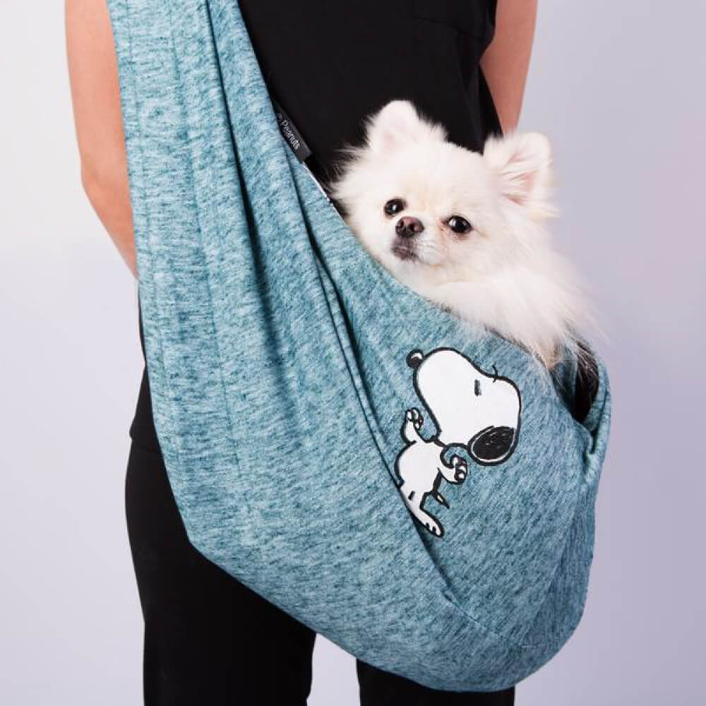 Bolsa Sling Zooz Pets Snoopy Strong Jade  - Focinharia