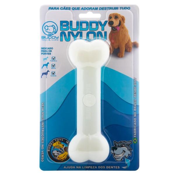 Brinquedo de Nylon Resistente Buddy Toys Osso  - Focinharia