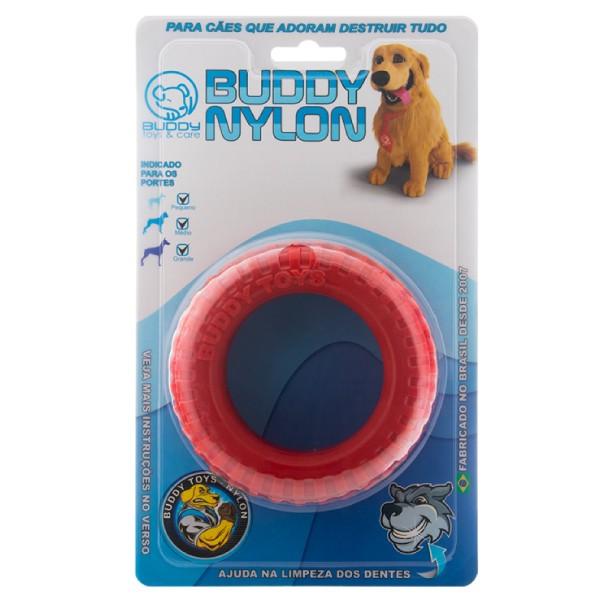 Brinquedo Buddy Toys Pneu Buddy Nylon  - Focinharia