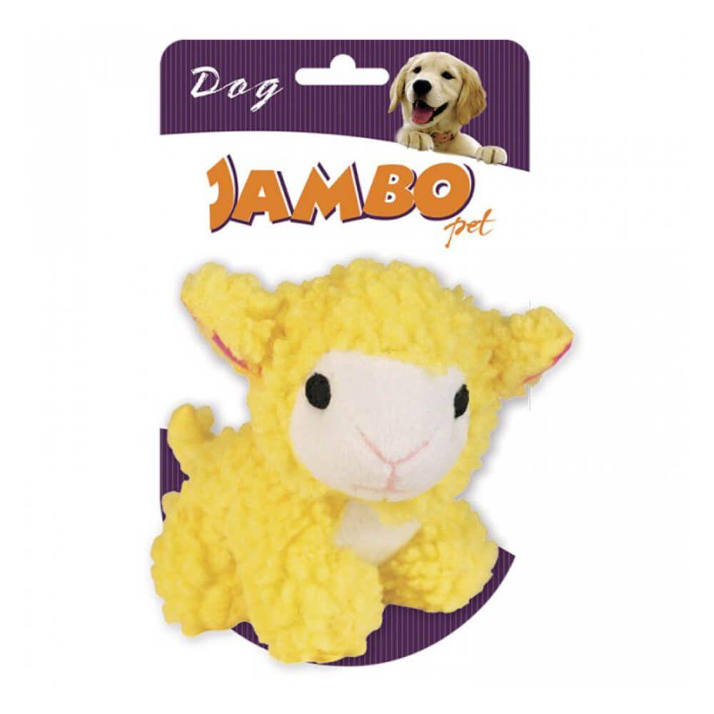 Brinquedo de Pelúcia Jambo Ovelha Baa Amarela  - Focinharia