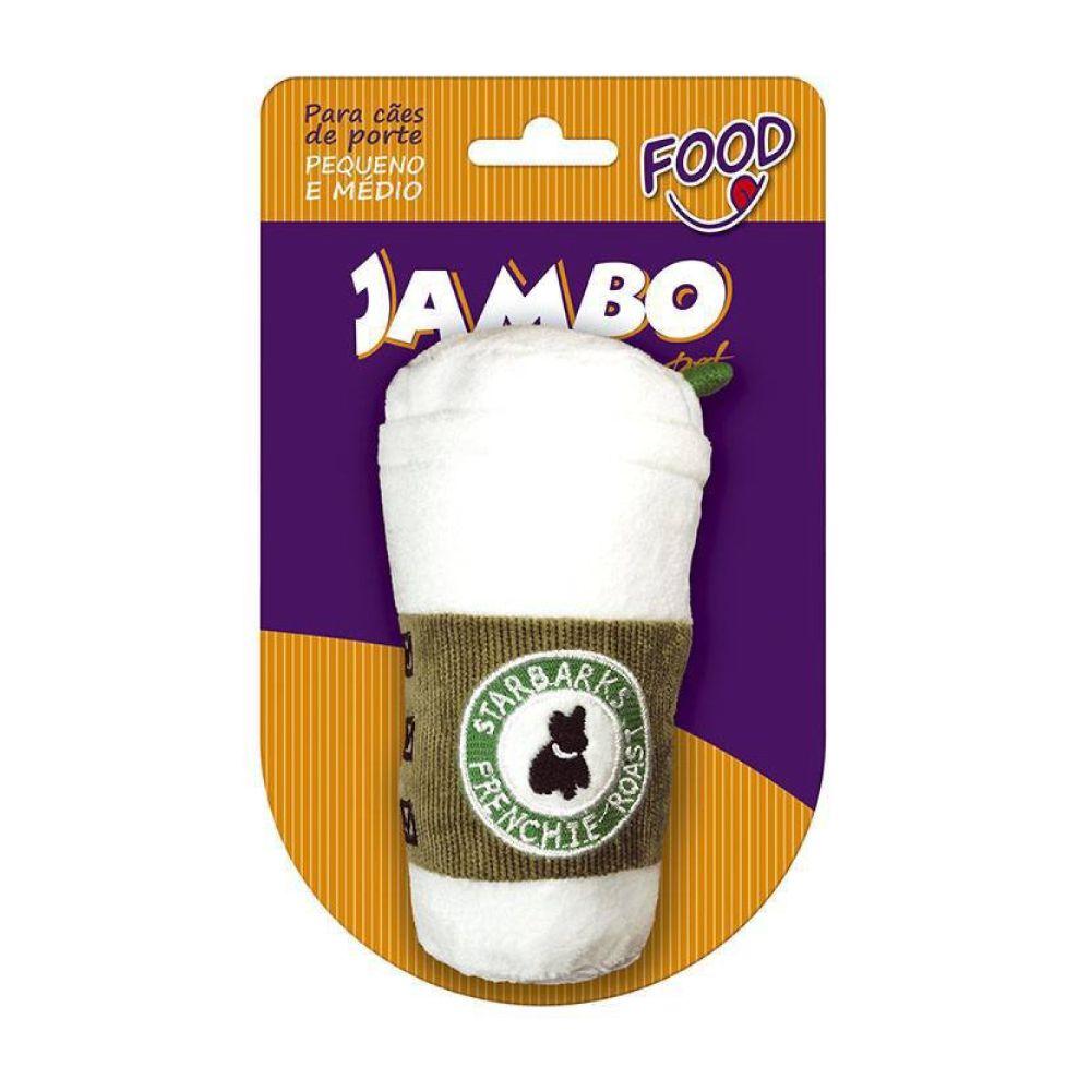 Brinquedo de Pelúcia Jambo Food Starbarks Branco  - Focinharia