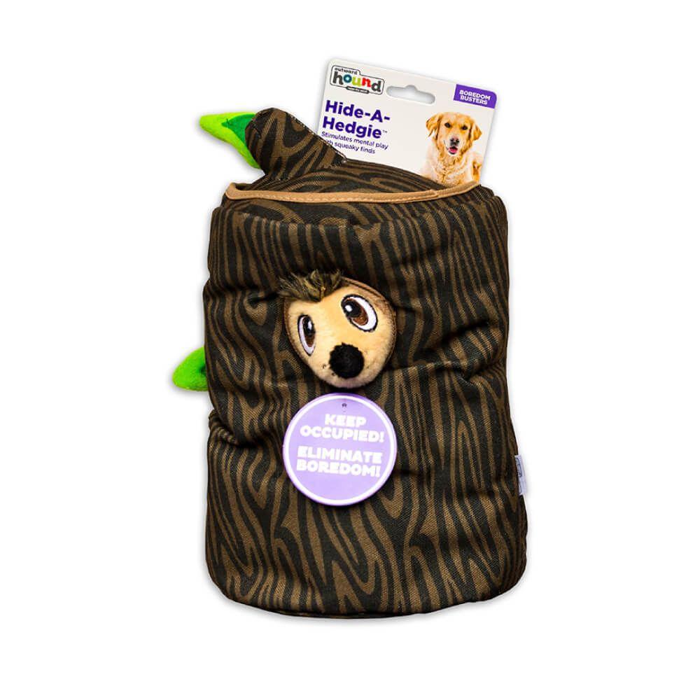 Brinquedo Outward Hound Hide-a-Hedgie Toca de Porco Espinho  - Focinharia