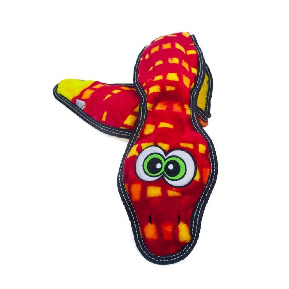 Brinquedo Outward Hound Invincibles Tough Seamz Cobra Vermelha  - Focinharia