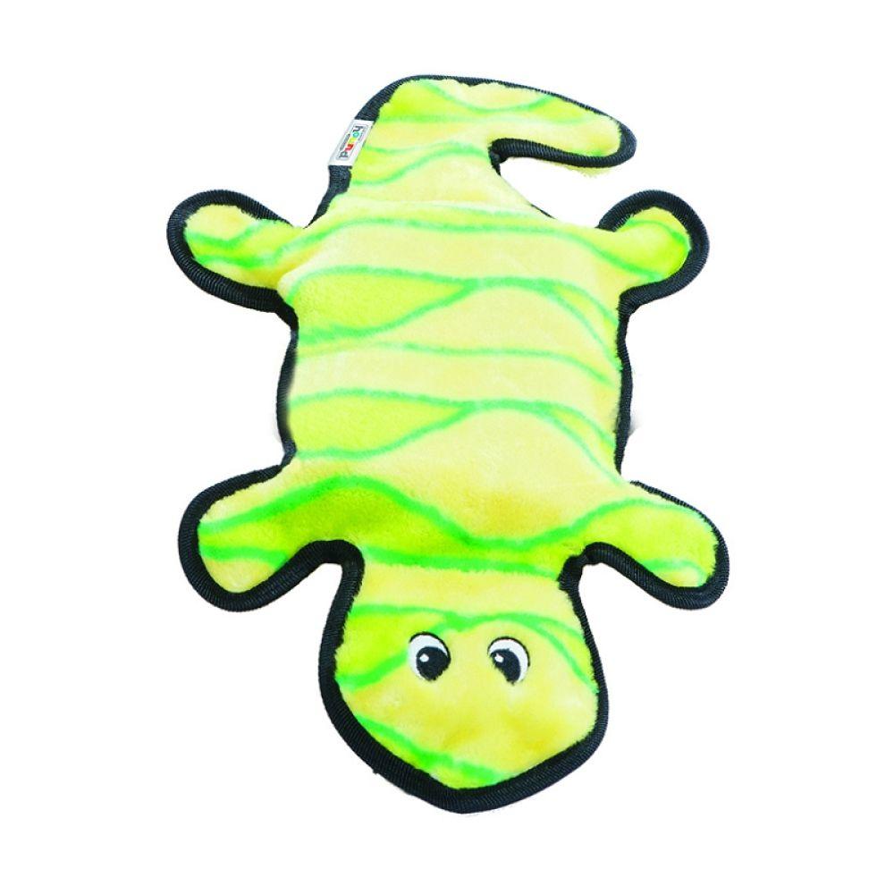 Brinquedo Outward Hound Invincibles Lagartixa Verde G  - Focinharia