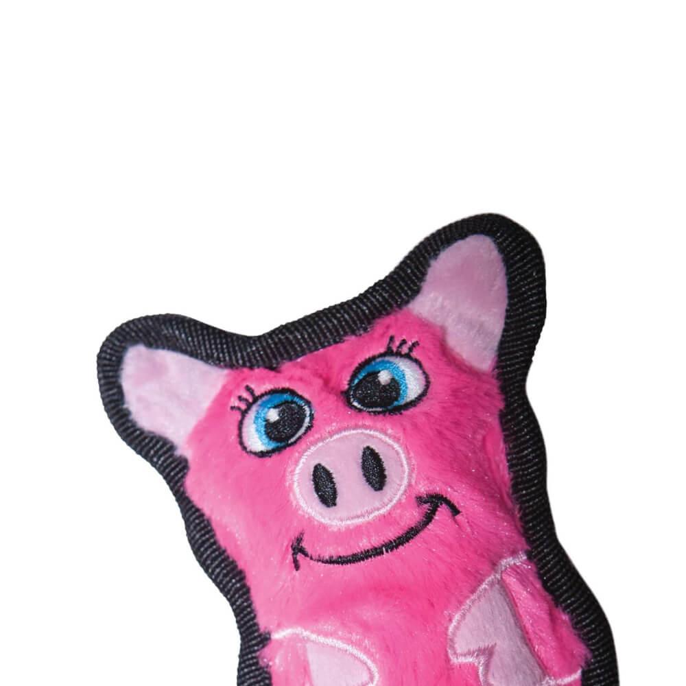 Brinquedo Outward Hound Invincibles Mini Porco  - Focinharia