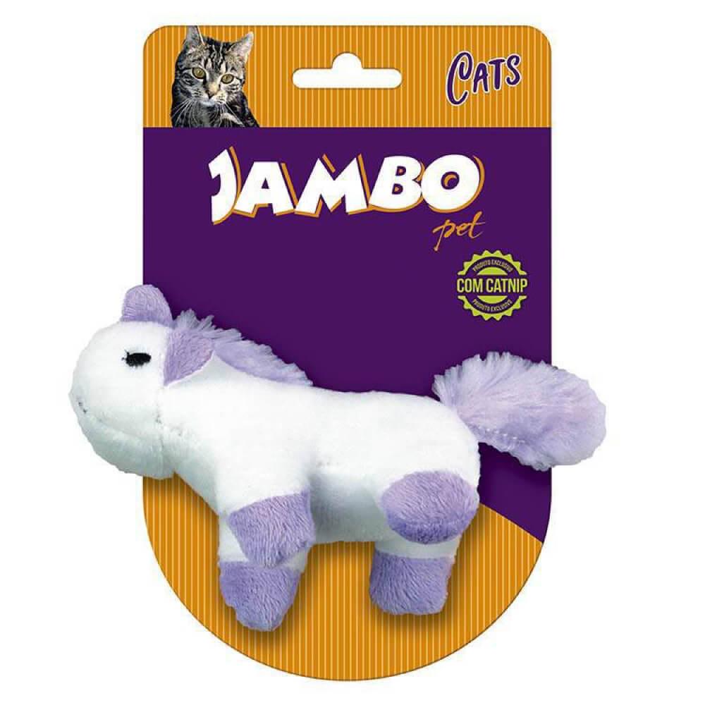 Brinquedo de Pelúcia com Catnip Jambo Unicórnio  - Focinharia