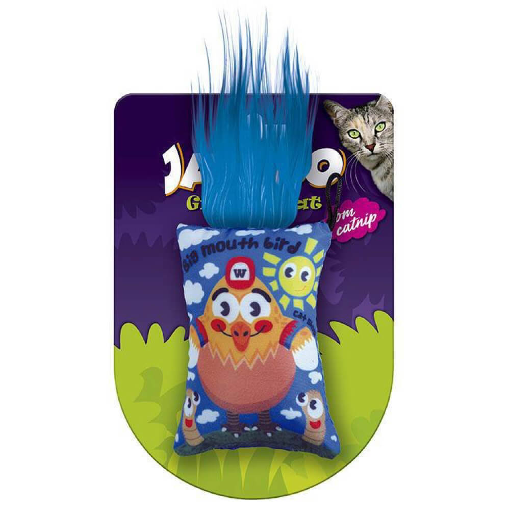 Brinquedo Jambo Graphic Cat Galinha Azul com Catnip  - Focinharia